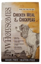 Wholesomes Chicken Meal and Chickpeas Grain Free formula